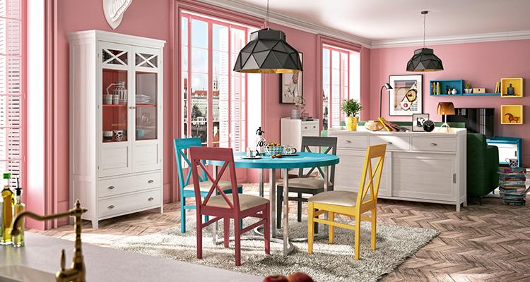 Ideas para combinar sillas y mesas de comedor - Mercado del Mueble