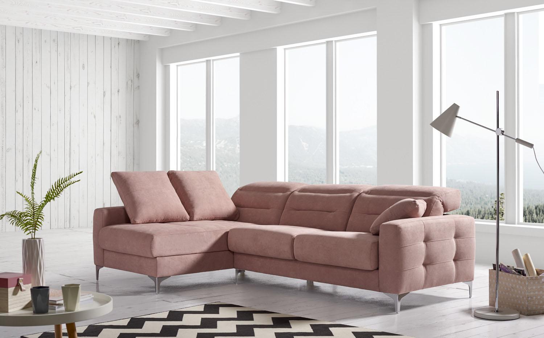 Sofa chaiselongue cabecero reclinable Mercado del Mueble Vivarea Pinto